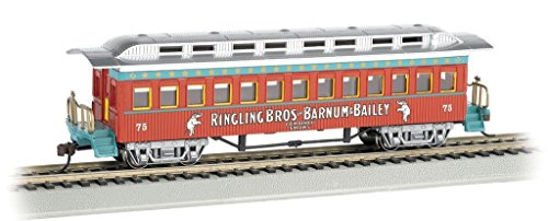 1860 Coach - Original - 1 Pack - Bachmann Industries Ringling Bros and Barnum & Bailey 1860 1880 Coach #75 Freight Car