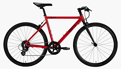 tern(ターン) CLUTCH 8段変速 クロスバイク 19CLT0RD51 RED 51(650C) B07G3KSFRH