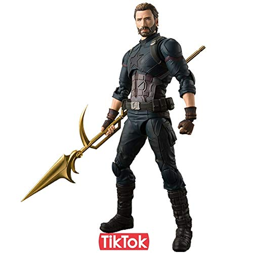 Grocoto Action & Toy Figures - Avengers Infinity War Thanos Iron Spiderman Iron Man Star Load Black Panther Captain America Black Widow Toy Action Figure Model 1 PCs ()