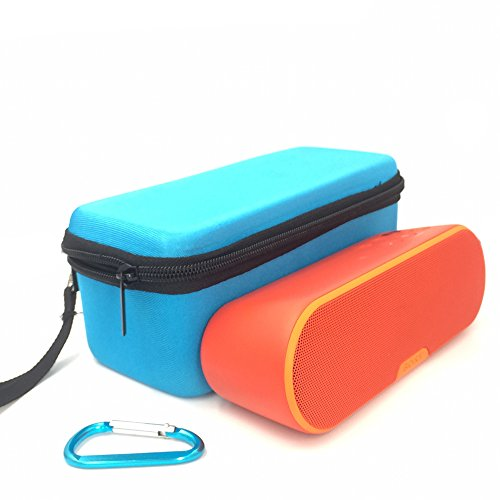 EVA Carry Travel Protective Pouch Bag Cover Case For Sony SRS-XB20 SRSXB2 -Extra Space for Cables (Blue)