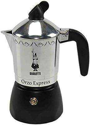Bialetti - Cafetera Orzo Express Plateada, 2 Tazas: Bialetti ...