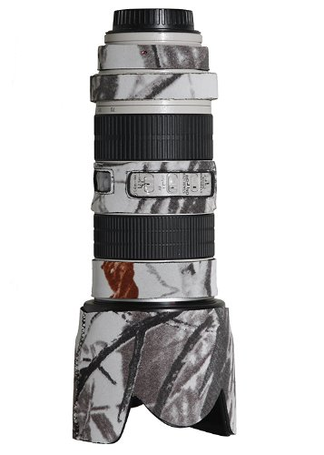 LensCoat lc70200sn Canon 70 – 200is F / 2.8レンズカバー(Realtree AP雪) B0087N09DU