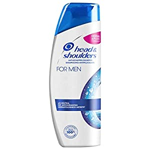 Head & Shoulders, shampoo antiforfora da uomo, confezione da 6 (6 x 300 ml)
