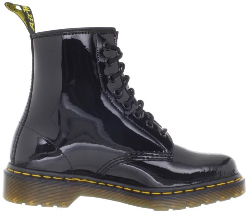 Dr. Martens Unisex 1460 8-tie Blonder-up Boot Sort Patent
