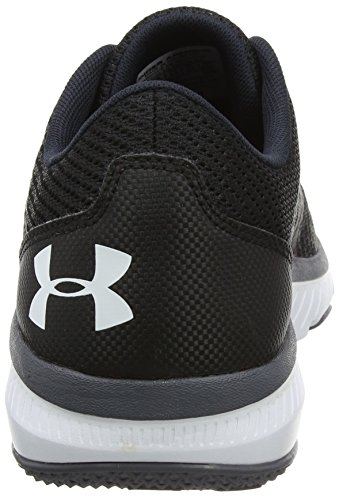 W UA Zapatillas Armour para Mujer G Exterior de TR Under Press Black Negro Micro Deporte BSnw1