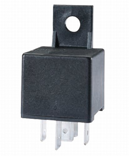 HELLA 933332061 24V 10/20A SPDT Mini ISO Relay with Bracket