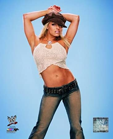Amazon.com: Trish Stratus - WWE 8x10 Glossy Photo (wearing hat ...