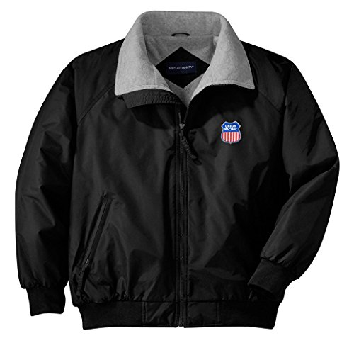 Daylight Sales Union Pacific Embroidered Jacket Adult L [Jacket47] Black