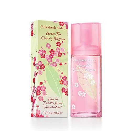 Elizabeth Arden, Green Tea Cherry Blossom, Agua de colonia para mujeres - 100 ml