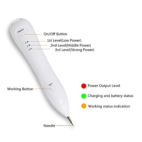 YOOMING Laser Freckle Remneoval Machi Skin Mole Removal Dark Spot Remover for Face Wart Tag Tattoo Remaval Pen Salon Beauty