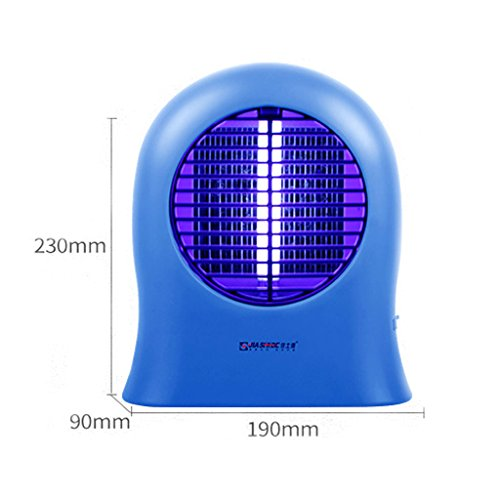 Mosquito Killer Home Pregnant Women Indoor Quiet Mini UV Mosquito Lamp Blue(19CMX23CM) (Color : Three)