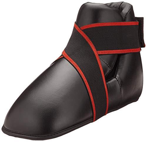 Black kickboxing boots semi/full contact kick boxing boots foot pad kids/Adult kick boxing foot pads