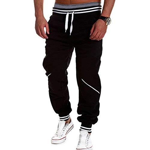 Cordón Pantalones Otoño Primavera Chándal Hombres Color Hip Con Sólido Casuales Hombre Harem Joggers De Battercake Negro Hop Cómodo Deportivos ZzwdHqxxv