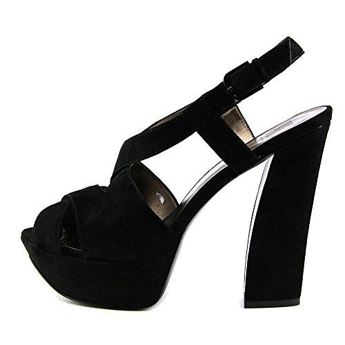 Pelle Moda Billow Mujer Ante Sandalia Plataforma