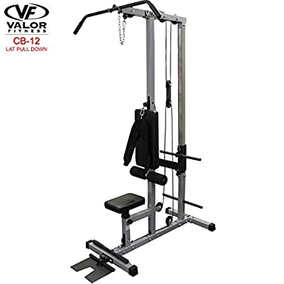 Valor Fitness CB-12 Plate Loading Lat Pull Down by Valor Fitness
