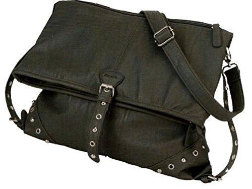 Damentasche  Marbella Fashion Style  4071 m.Handyfach RV-Rückfach in 4 Farben ca 32 x 49 x 6 cm Dunkelblau XgeQbF