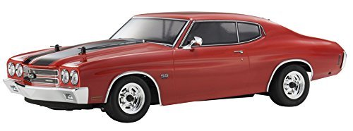 Kyosho 1/10 Phaser VEi 1970 Chevrolet Chevelle SS454 LS6 RC set with cranberry red transmitter (Chevelle Front Bumper Bolt)