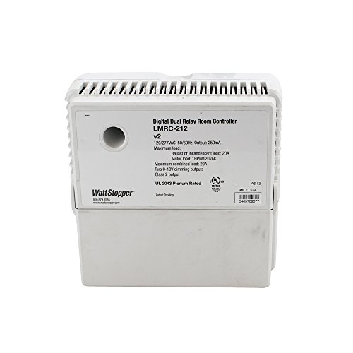 120 Load Box - Wattstopper LMRC-221 Box Mount Universal 1 Load Forward Phase Dimming Room Controller 120 - 277 Volt AC 800 Milli-Amp White