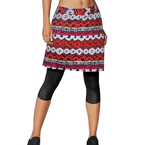 Topfire Women Active Athletic Skorts/Capri/Long Skirt Lightweight Quick Dry Skirt for Sports Running Tennis Golf Workout - Capri Dry