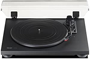 Teac TN100B Belt-Drive Turntable with Preamp and USB (Flat Black)