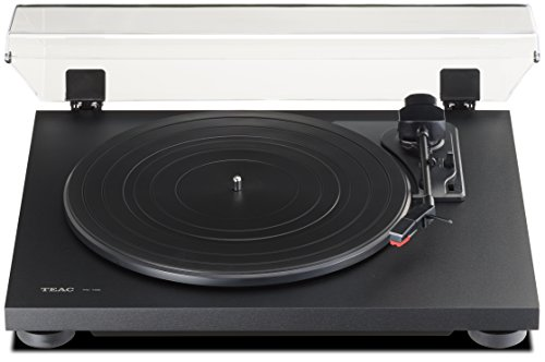 Teac TN100B Belt-Drive Turntable with Preamp and USB (Flat Black) by Teac