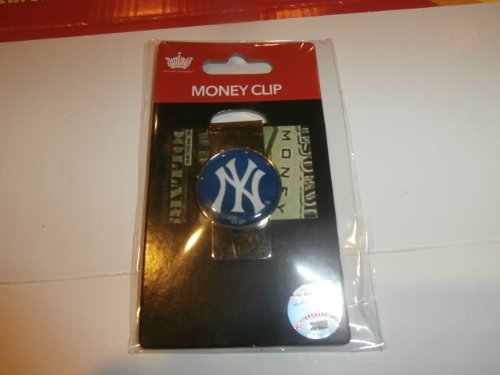 Aminco Money Clip (MLB Sports Team Raised Dome Logo Money Clip (New York Yankees))