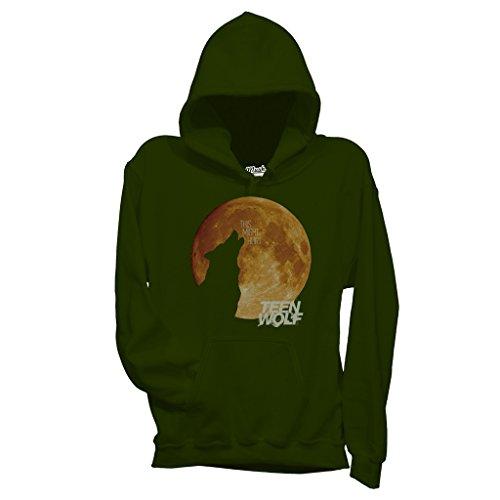 Sweatshirt Wolf Und Mond Teen Wolf - FILM by Mush Dress Your Style