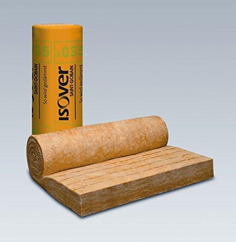 Dicke: 120 mm ISOVER Integra ZKF 1-035 Zwischensparren-Klemmfilz   Rolle 1200 mm breit   4,8 m lang
