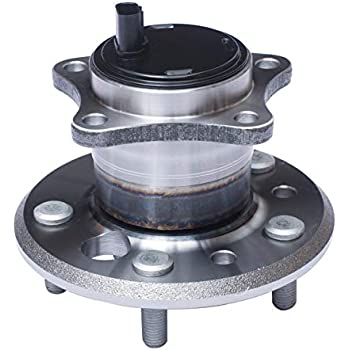 Moog 512207 Cross Reference Timken HA592450 SKF BR930266 Rear Right Wheel Hub Bearing Assembly WJB WA512207