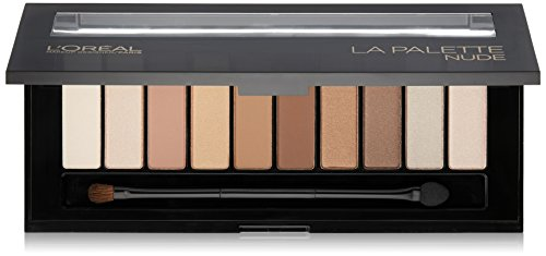 L'Oréal Paris Makeup Colour Riche Eye 'La Palette Nude' Eye Shadow Palette with Brush, 111 Nude, 0.62 oz. ()