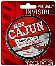Cajun Line Zebco Cajun Low-Vis Fishing Line 330yd 17 Lb/Test Low-Viz Ragin Red, 17 lb, Multi, One Size (CLLOWV