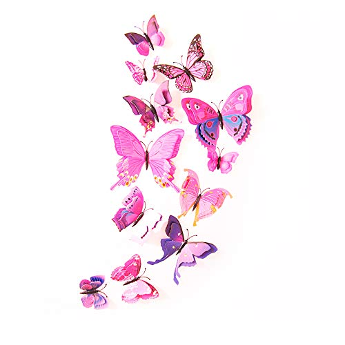 feng biao Colorful Butterfly Decoration