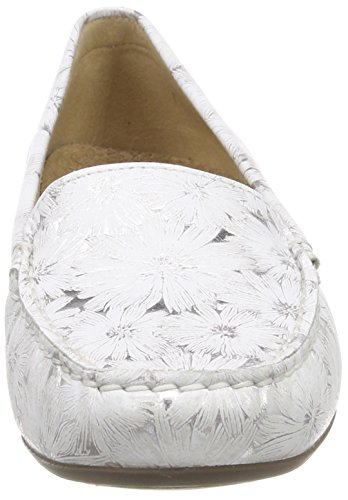 Sioux Moccasins Zilly Women's 009 Silver Weiss silber w4PqwvR