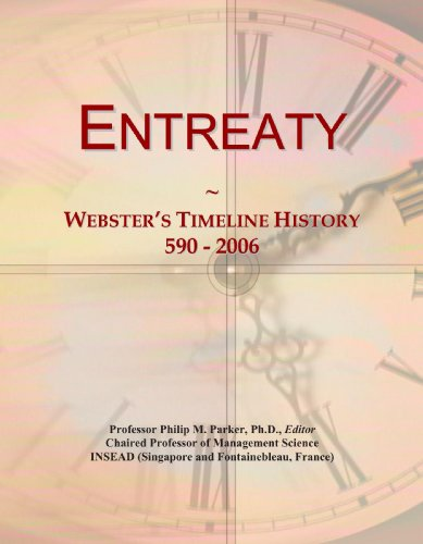 Entreaty: Webster's Timeline History, 590 - 2006