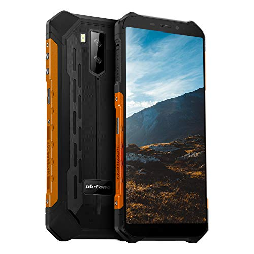 Ulefone Armor X5 Rugged Cell Phones Unlocked (2020), 5.5 inch Screen, Android 10, 3GB + 32GB, 13MP + 2MP Dual Rear…
