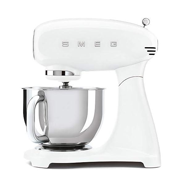 Smeg Stand Mixer, 5qt, All-White. SMF03WHUS 1