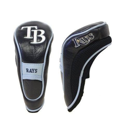 - Team Golf MLB Tampa Bay Rays Hybrid Golf Club Headcover, Hook-and-Loop Closure, Velour lined for Extra Club Protection