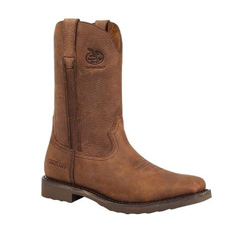 Georgia Boot Men's Carbo Tec G006 Western Boot,Dog Wood,10.5 M US