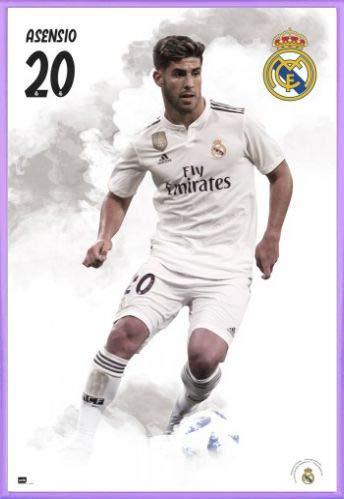 super popular c20a9 4e0a6 Amazon.com: Football Poster and Frame (Plastic) - Real ...
