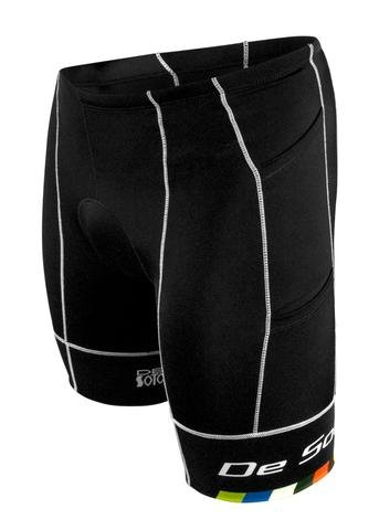 De Soto Mobius Tri Short 4-Pocket - Black/DeSoto Print (X-Large)