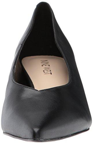 Pump West Leather Black Nine Leather Women's Zhoto wpCdBIqxI