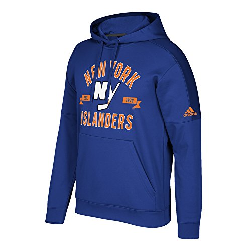 Islanders New Fleece Team York (adidas NHL New York Islanders Mens Misconduct Team Issue Fleece Pullover Hoodmisconduct Team Issue Fleece Pullover Hood, Blue, XX-Large)