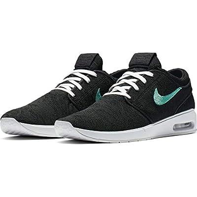 Nike Men's SB Air Max Janoski 2 Skateboarding Shoe (Black/Mint-Black, 10 M US) | Skateboarding