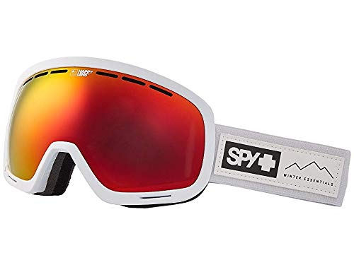 (Spy Optic Unisex Marshall Essential White/Happy Gray Green/Red Sepctra/Happy Yellow/Lucid One Size)
