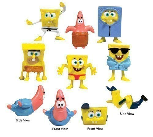 Amazon.com: Bob Esponja Fiesta – Lote de 20 juguetes: Toys ...
