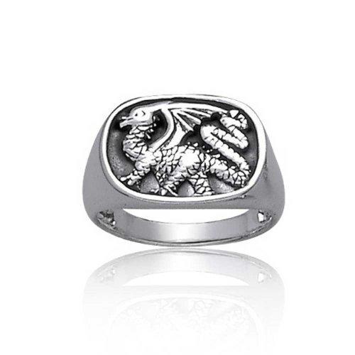 Dragon Antique Ring - 5