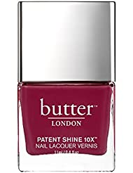 butter LONDON Patent Shine 10X Nail Lacquer, Broody,...