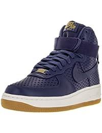 b0efb93d24fa0 Women s Air Force 1 Hi Premium Black Black Gum Med Brown Sail Basketball  Shoe · Nike
