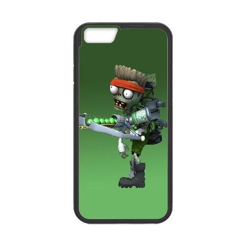 Plants Vs Zombies Garden Warfare 333 coque iPhone 6 4.7 Inch Housse téléphone Noir de couverture de cas coque EEEXLKNBC18064