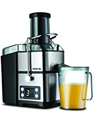 Gourmia GJ1350 Stainless Steel Wide Mouth Juicer | Digital Display | Whole Fruit Juicer | Filtration